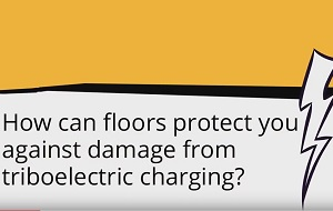 PROTECTION WITH ESD FLOORS